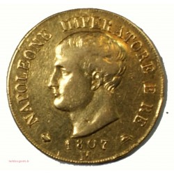 40 lire or Napoleone Imperatore