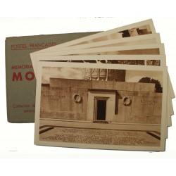Série de 5 cartes Mémorial Américain de MONTFAUCON dans sa pochette K1S1
