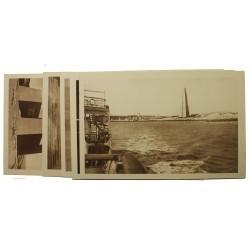 5 entiers postaux 55c Mémorial Américain 1938 neufs