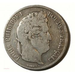 Ecu Louis Philippe Ier - 5 Francs 1837 K Bordeaux lartdesgents.fr