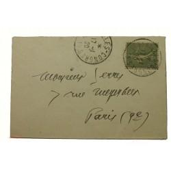 lot de 5 lettres ou CPA avec cachet Versailles congrès 17-1-1920