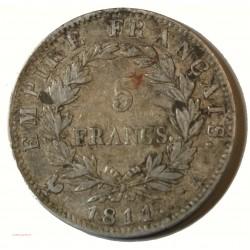 Ecu Napoléon Ier - 5 Francs 1811 A espacé Gad. 584