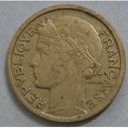 FRANCE - 2 Francs 1935 Morlon rare et joli,  Bronze -Aluminium