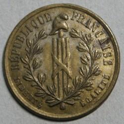 JETON Laiton - 1848 République Française, Journée du 22-23-24 Février
