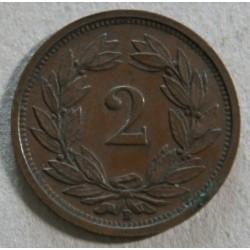 Suisse - 2 rappen 1926