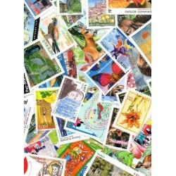 lot de 100 Euros de timbres neuf Faciale en euro à -40%
