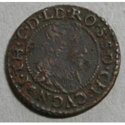 FEODALE - CUGNON - J. THEODORE double tournois 1634