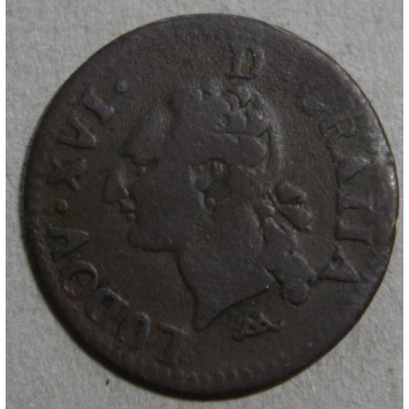 Louis XVI - liard 1783 N Montpellier