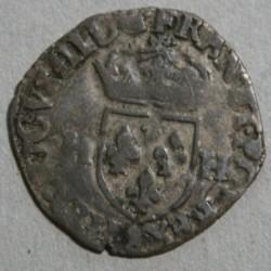 HENRI III - Douzain aux 2 H, 1576 Aix en provence.