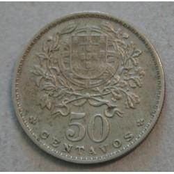 PORTUGAL - 50 CENTAVOS 1929