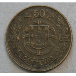 PORTUGAL - 50 CENTAVOS 1926