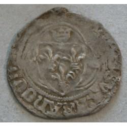 CHARLES VII petit blanc du Dauphiné