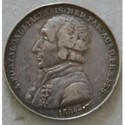 JETON Argent -Dr Portal Antoine Médecin du roi 1809-10 TTB