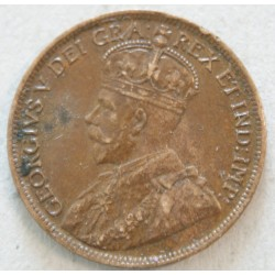 CANADA - 1 CENT 1914 king Georges V