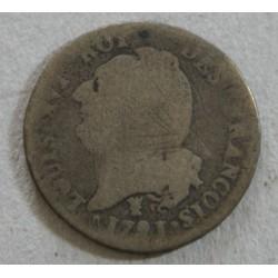 ROYALE - LIMOGES, 15 Sols 1791 I Louis XVI L ART DES GENTS