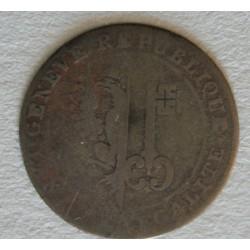 Suisse -  6 sols canton de Geneve 1797