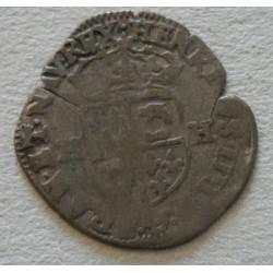 ROYALE Dauphiné - Henri III, douzain aux 2 H couronnées