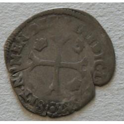 ROYALE Dauphiné - Henri III, douzain aux 2 H couronnées 1573