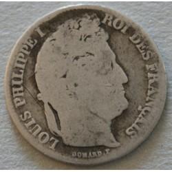 Louis Philippe Ier -1 Franc 1848 A
