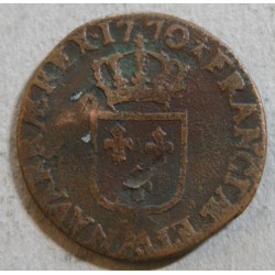 Louis XV - demi sol 1770 AA Metz