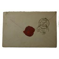 lettre 9 SEPTEMBRE 1871 AVEC N° 20 ET N° 37 OULLINS (3) GC 2756