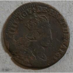 Louis XIV - Liard de France 1657 D VIMY
