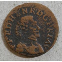 FEODALE NASSAU -Double tournois Fréderic HENRI 1640