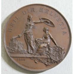 Suisse médaille - Shooting Fest Thurgau Frauenfeld Juli 1890