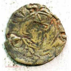 FEODALE LANGUEDOC - Petit denier éveché de viviers vers 1200 ap. JC