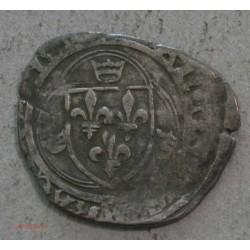 ROYALE FRANCE - Blanc à la couronne charles vii, Poitier ou La Rochelle?