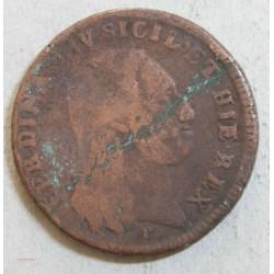 ITALIE - SICILE 6 TORNESI 1801, FERDINAN IV .TB