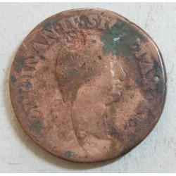 ITALIE - SICILE 20 TORNESI 1798, FERDINAN IV .B