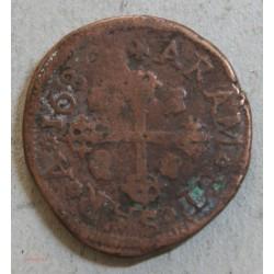 ITALIE CAGLARIE - 3 Caglariese Carolvs II 1680