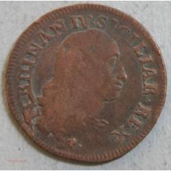 ITALIE NAPLES - UN GRANO 12 cavalli 1791