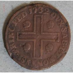 ITALIE SARDEIGNE - 3 Caglariesi 1732 Charles Emma. III
