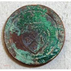 INDE Madras 1/96 roupie