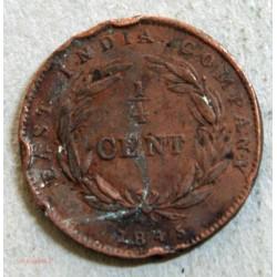 INDE Victoria Queen - 1/4 cent 1845