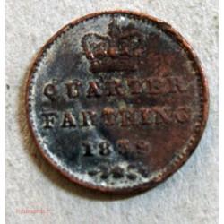 Queen Victoria quarter farthing 1839