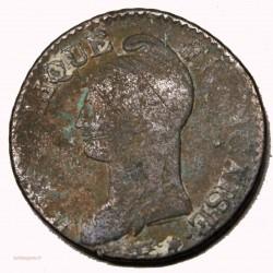 FRANCE - DIRECTOIRE Cinq centimes AN 8 AA Metz