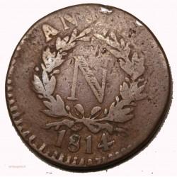 SIEGE D'ANVERS - 5 centimes 1814