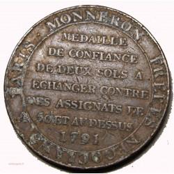 monneron de 2 sols a la liberté 1791 (2)