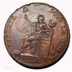 monneron de 2 sols a la liberté 1792
