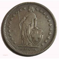 Suisse -  2 francs 1908