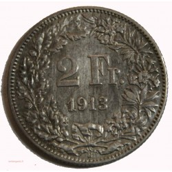 Suisse - 2 francs 1909 TTB+