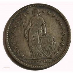 Suisse -  2 francs 1886 argent-silver