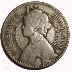 MARTINIQUE - Bon pour 1 Franc 1922