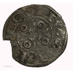 FEODALE ANGOULÊME -  Denier e Louis IV d'Outremer 936-954 ap. JC