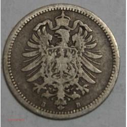 Allemagne - 20 pfennig 1874 B