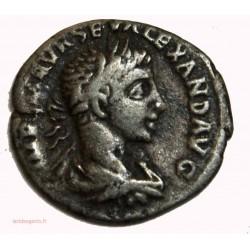 ROMAINE - Denier Alexandre Sévère 222 ap. JC, AEQUITAS