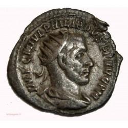ROMAINE - antoninien Philippe l'arabe 244 Ap. JC VIRTVS E-XERCITVS